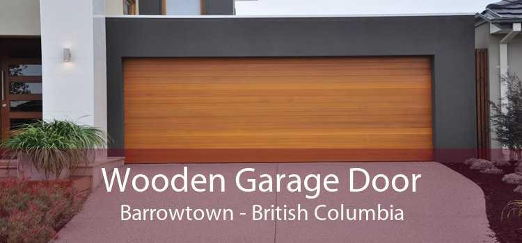 Wooden Garage Door Barrowtown - British Columbia